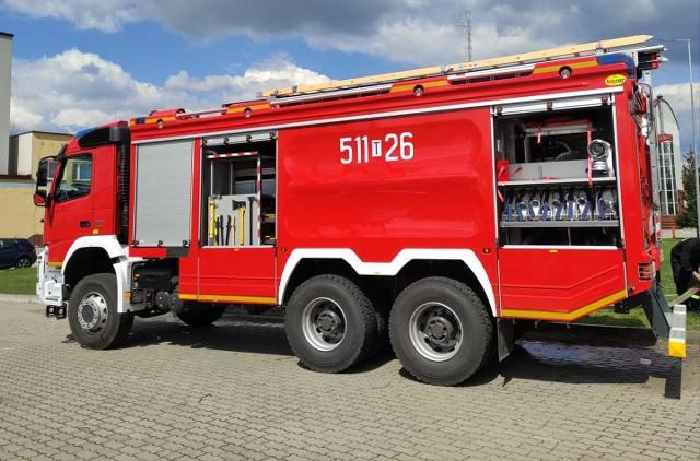 Nowy wóz włoszczowskich strażaków