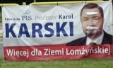 Eurowybory 2014: Powyborcze obrazy z Łomży