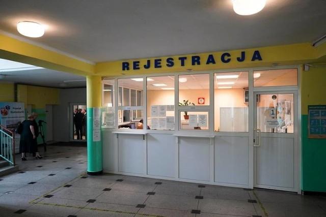 Przed rokiem przeprowadzono remont generalny wnętrza przychodni
