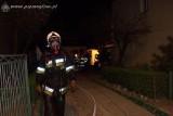 Ogień w centrum Mogilna. Mieszkańcy nie ucierplieli