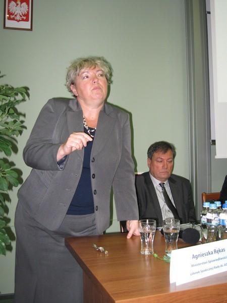Sędzia Agnieszka Rękas opowiedziała o tym dlaczego warto mediować.