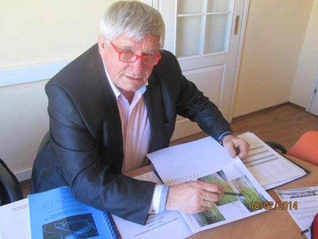 Jerzy Gotowski udokumentował, jak są składowane odpady.