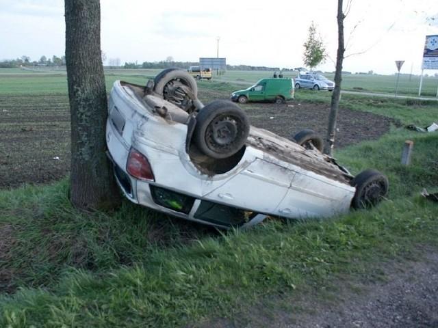 Wypadek na trasie Hajnówka – Bielsk Podlaski