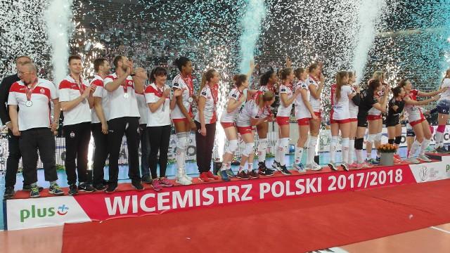 ŁKS Łódź wicemistrzem Polski 2018 w siatkówce kobiet