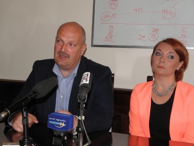 Joanna Trzebińska i Tomasz Klemann przekonywali, że muszą wykonać prace remontowe