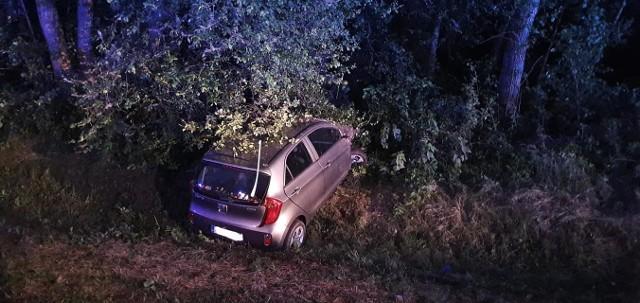 Wypadek na drodze wojewódzkiej nr 677, w pobliżu Gniazdowa, 13.06.2020