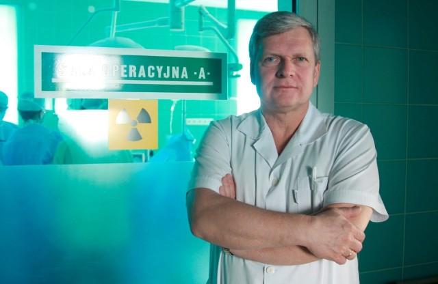 Prof. Wojciech Polkowski, kierownik Kliniki Chirurgii Onkologicznej SPSK1