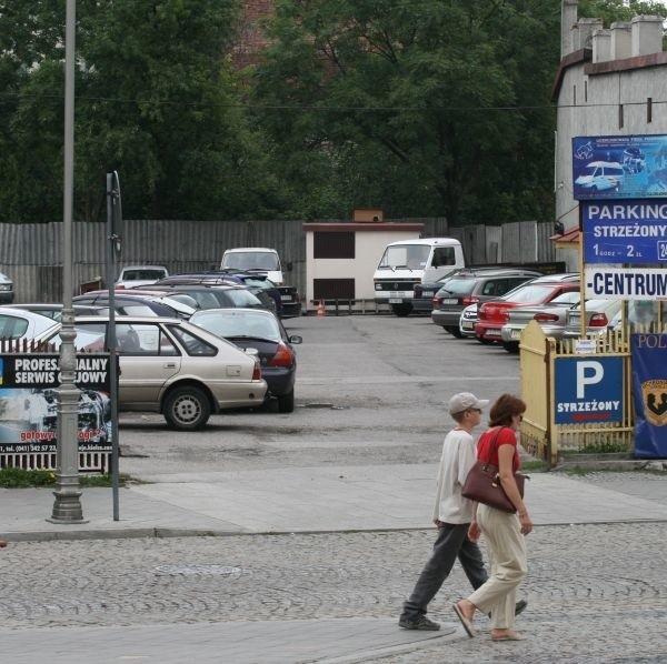 Parking przy ulicy Bodzentyńskiej zniknie. Powstanie tu Kieleckie Centrum Niepełnosprawnych.