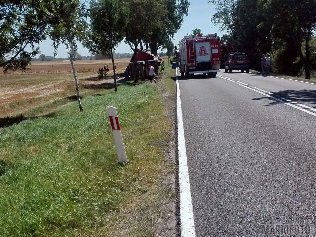 Wypadek w Pawłowie - DK94.