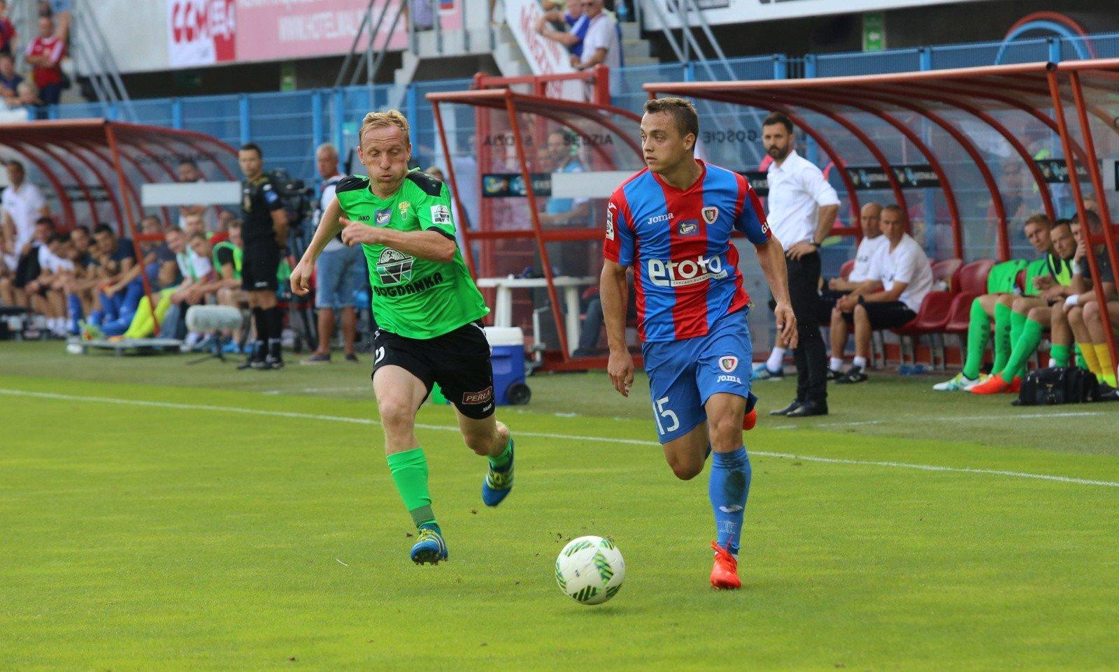 3459feec4 Michał Masłowski rozegrał swój drugi mecz po długiej przerwie spowodowanej  kontuzją