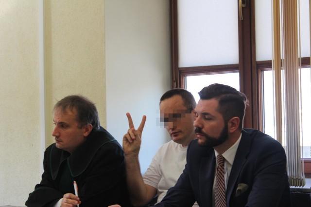 Andrzej Z. w środę w sądzie sprawiał wrażenie pewnego siebie.