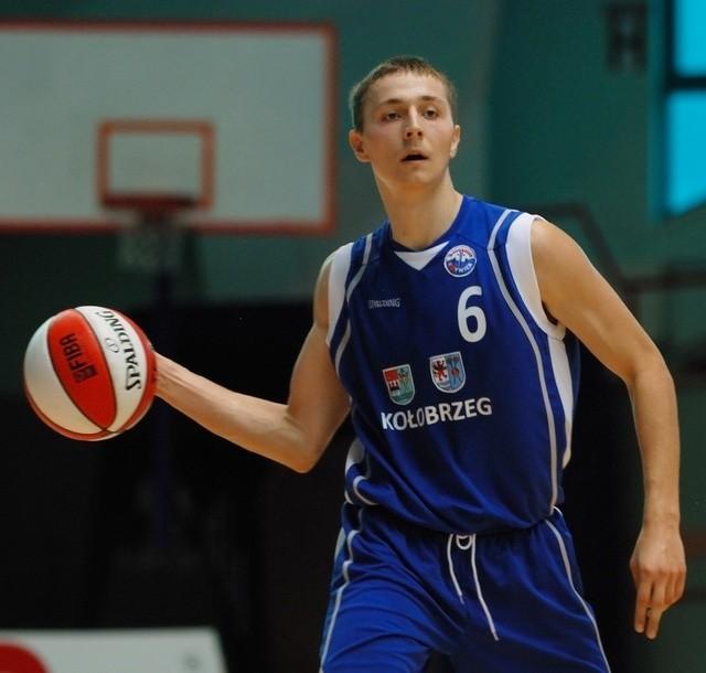 Bartosz Diduszko trafiał w meczu z Treflem ważne rzuty z dystansu.