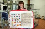 Pierwsza w Polsce haftowana książka dla dzieci powstała w Przechlewie! Z myślą o pracy sensorycznej wykonała ją Olga Stelmach