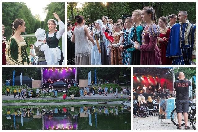 Park Planty. Festiwal Barokowe Ogrody Sztuki