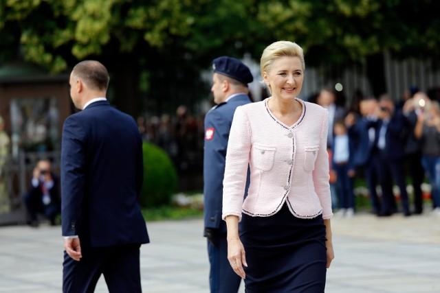 Christian Paul pochwalił styl pierwszej damy Agaty Kornhauser-Dudy.