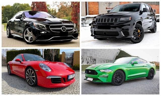 Najdroższe samochody na sprzedaż w Białymstoku. Zobacz jakie luksusowe auta sprzedają osoby prywatne w stolicy Podlasia
