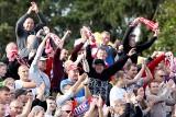 Najwierniejsi wygrali los na loterii. Kibice na meczu ZOOLeszcz Polonia Bydgoszcz - PSŻ Poznań [zdjęcia]