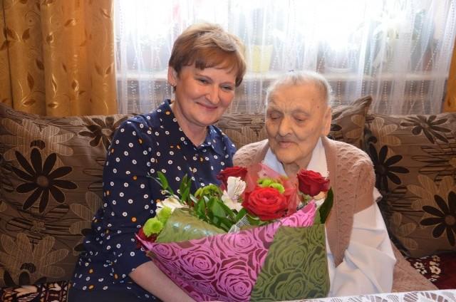 Stanisława Fidura skończyła 101 lat!