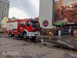 Woda wdarła siędo sklepu w Centrum Handlowym EUROPA II przy al. Józefa Piłsudskiego w Rzeszowie [ZDJĘCIA]