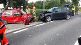 Wypadek w Gierczycach w powiecie opatowskim. Jedna osoba ranna [ZDJĘCIA]