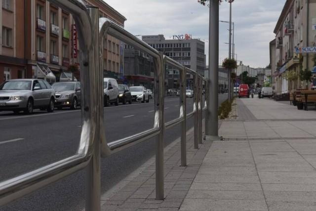 Ulica Bohaterów Westerplatte w Zielonej Górze