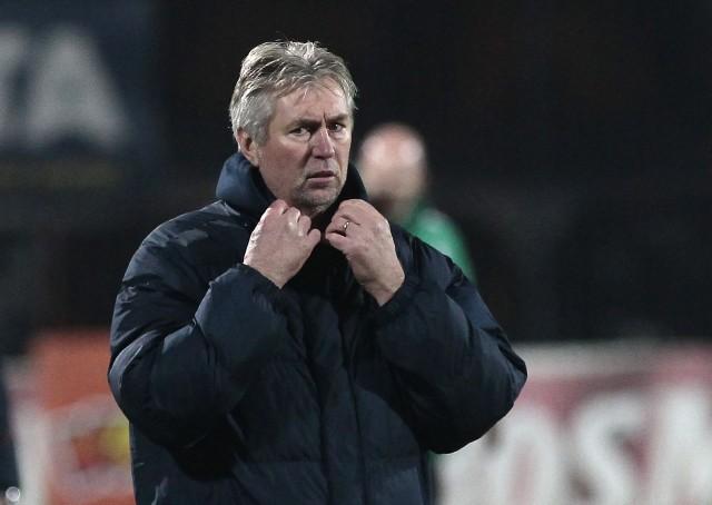 Jan Kocian, trener Pogoni.