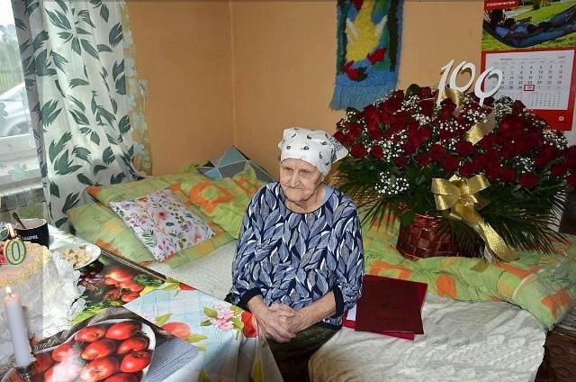 Pani Zofia Szwed jest szesnastą osobą obchodzącą 100-lecie urodzin w gminie Jeżowe