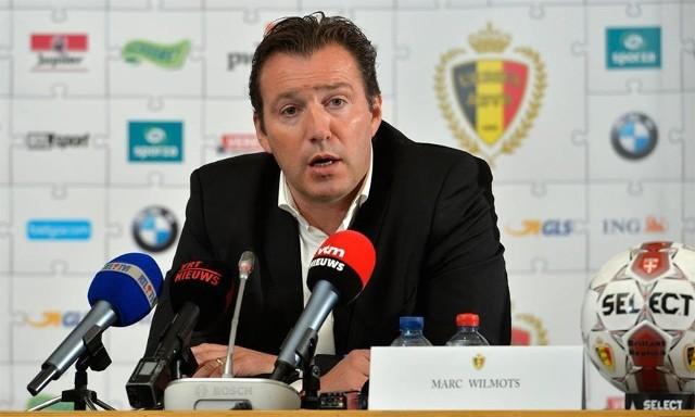 Marc Wilmots, trener Belgów