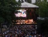 """Malta Festival Poznań 2019: """"Operetta! Żyjesz w Matrixie"""" na finał - koncert odbył się na klepisku, gdzie powstanie Teatr Muzyczny [ZDJĘCIA]"""