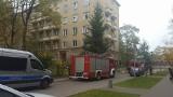 Straż pożarna na Szpitalnej. Robotnicy zostawili włączony palnik (zdjęcia)