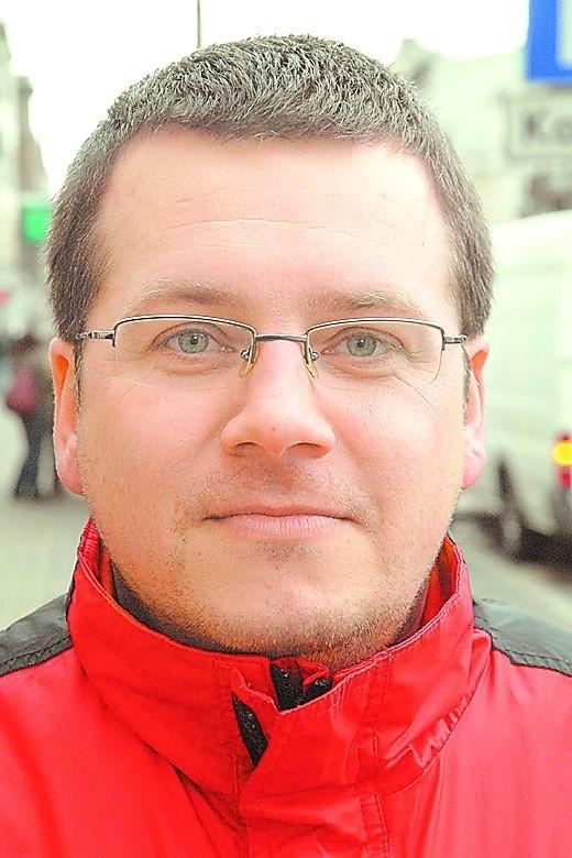Dr Michał Cichoracki socjolog UKW w Bydgoszczy.