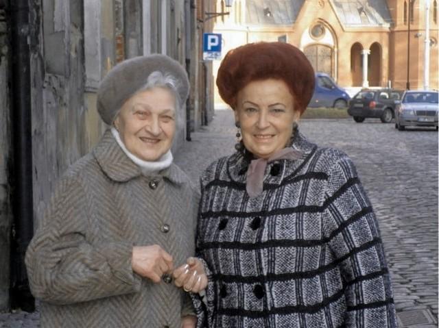 Kazimiera Okonek (z lewej) i Gizela Czyż: - Jesteśmy szczęśliwe, że mieszkamy w Toruniu