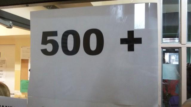 Problemy z realizacją programu 500 +