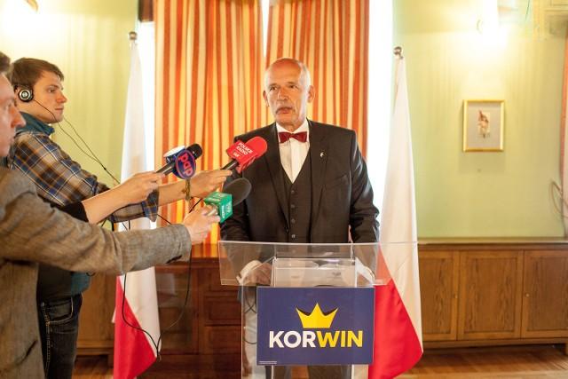 Janusz Korwin-Mikke zaprezentował projekt nowej konstytucji