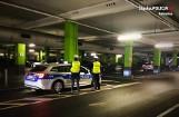 Katowice. Policja udaremniła nocne wyścigi na parkingu podziemnym. Zatrzymano 20 dowodów rejestracyjnych