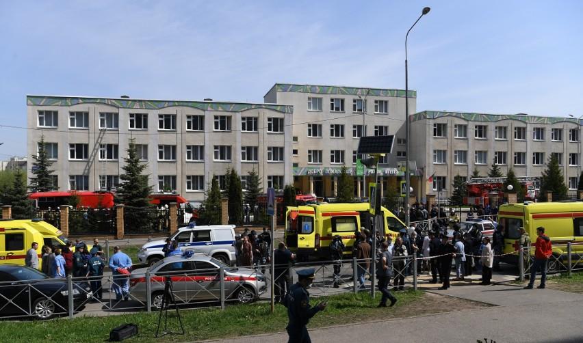 Eksplozja i strzały w szkole w Kazaniu w Tatarstanie. Osiem osób zostałol zabitych, wśród ofiar są głównie dzieci