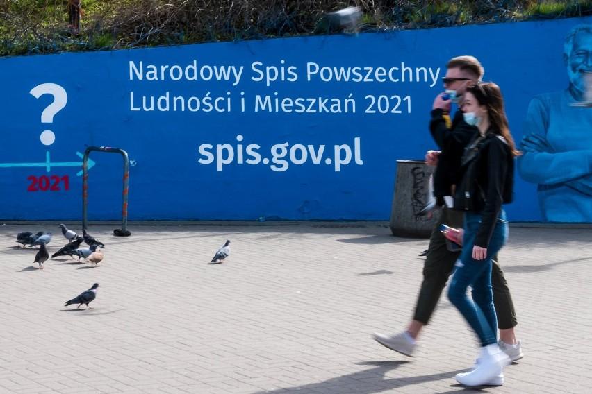 Trwa Narodowy Spis Powszechny Ludności i Mieszkań, w ramach...