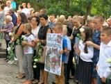 Kamienna Góra pożegnała dziś 10-letnią Kamilę