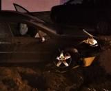 Peugeot wyleciał z drogi i uszkodził gazociąg w Jastrzębiu-Zdroju. Mogło dojść do wybuchu! Sprawcą...pijana 32-letnia kobieta