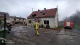 Pożar domu pod Rawiczem. Pięcioosobowa rodzina została ewakuowana. Potrzebna pomoc dla pogorzelców