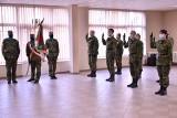 Krosno Odrzańskie. Ślubowanie funkcjonariuszy w Nadodrzańskim Oddziale Straży Granicznej. Przed nimi szkolenie i nowe obowiązki