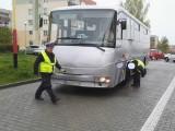Policjanci kontrolowali w Świebodzinie szkolne autobusy