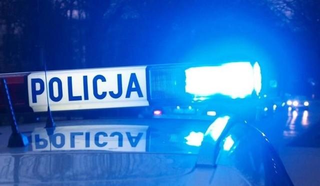 Wypadek na drodze krajowej nr 11 koło Bonina