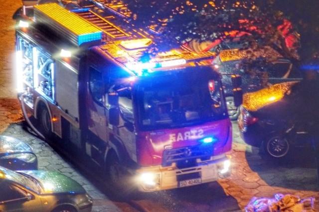 Pożar w mieszkaniu w Bytomiu