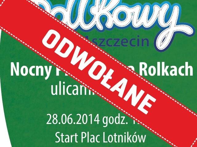Nie odbędzie się Nightskating w Szczecinie planowany na 28 czerwca