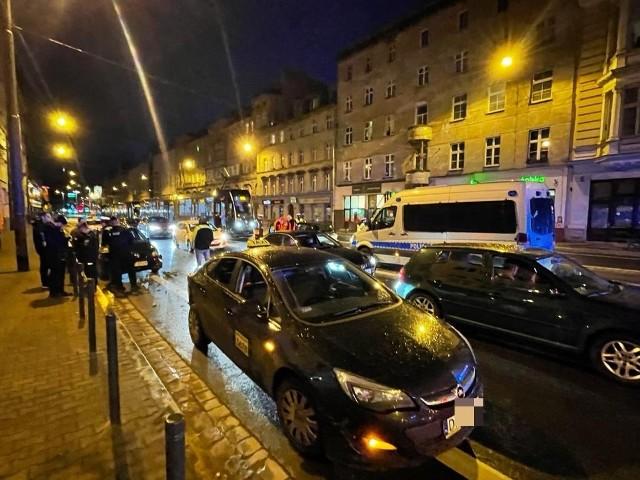 Wypadek na ulicy Piotra Skargi we Wrocławiu