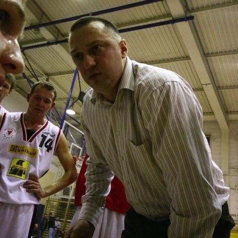 Andrzej Sinielnikow nie jest już trenerem koszykarzy Tura Bielsk Podlaski