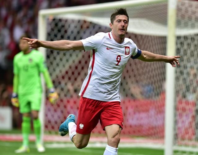 Robert Lewandowski w eliminacjach mistrzostw świata 2018 zdobył już 11 bramek.