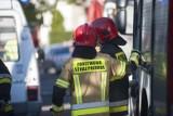 Katowice. Pożar altany w Katowicach. Na miejscu działały trzy zastępy straży. Na szczęście nikt nie ucierpiał