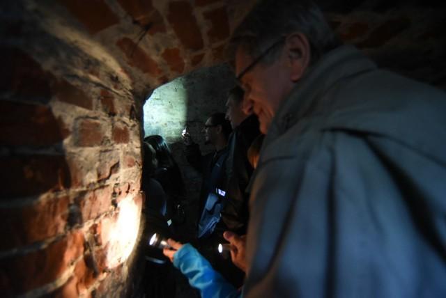 Zwiedzanie tunelu pod Bytomiem